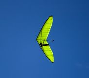 Green glider. Royalty Free Stock Photography