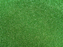 Green glitter background Stock Photo