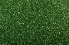 Green Glitter background Stock Image