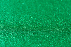 Green glitter background stock photography