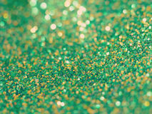 Green glitter background old retro vintage Stock Photography