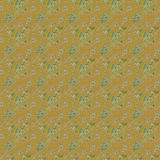 Green glitter flower fabric Royalty Free Stock Photos