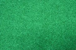 Green glitter foam sheet texture Stock Image