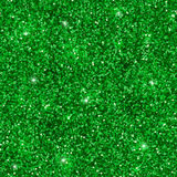 Green glitter seamless pattern. Vector Stock Photo