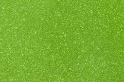 Green glitter texture background Stock Photography