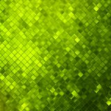 Green glitters on a soft blurred.  Royalty Free Stock Photography