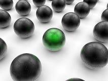 Green global solution concept Stock Photos