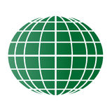 Green globe Royalty Free Stock Photography