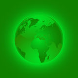 Green globe. Stock Photography