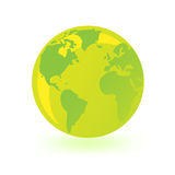 Green globe. Stock Photo