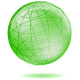 Green globe Royalty Free Stock Photography