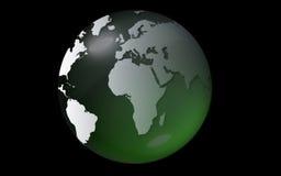 Green globe Royalty Free Stock Photo