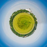 Green Globe Royalty Free Stock Photos
