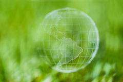Green globe Royalty Free Stock Image