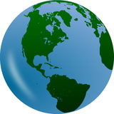 Green, Globe, Planet, Earth Royalty Free Stock Image