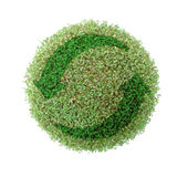 Green globe recycle Royalty Free Stock Photos