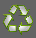 Recycle symbol icon Stock Images