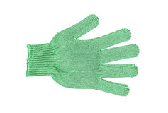 Green glove Stock Images