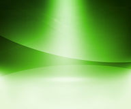 Green Glow Abstract Background Stock Images