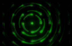 Green Glowing Abstract image Stock Photography