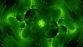 Free Green Glowing Alien Technology Computer Generated Abstract Background Stock Photos - 154588483