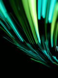 Green glowing lines Stock Photography