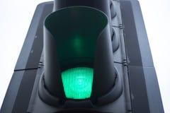 Green go road traffic light Stock Photo