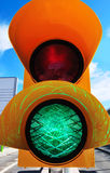 Green Go Signal Stock Images