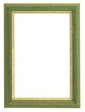 Green and gold frame Royalty Free Stock Image