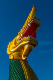 Green and Gold naga Stock Photography