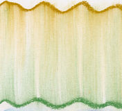 Green and gold  pastel abstract Royalty Free Stock Photography