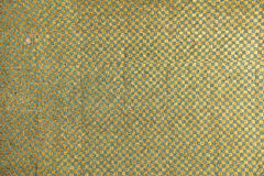 Green And Gold Tile Pattern Stock Images