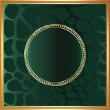 Green and golden background Royalty Free Stock Photo