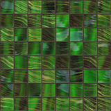 Green golden tiles Royalty Free Stock Photo