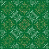 Green golden and white Fabric texture seamless  tile background Stock Photos