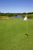 The green of a golf course Royalty Free Stock Photography