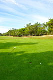 Green, Golf course in Andalusia, Spain Stock Photo
