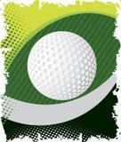Green golf eye Royalty Free Stock Photos