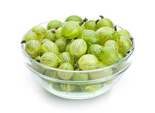 Green gooseberry Royalty Free Stock Images