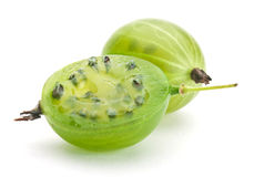Green gooseberry Stock Photography