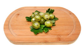 Green gooseberry Royalty Free Stock Photography
