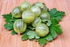 Green gooseberry Royalty Free Stock Image