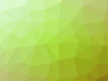 Green gradient abstract polygon shaped background.  Royalty Free Stock Images