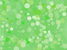 Green gradient background with bokeh effect. Abstract blurred pattern. Light background Vector illustration. Green gradient background with bokeh effect Royalty Free Stock Image