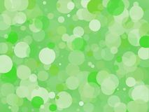 Green gradient background with bokeh effect. Abstract blurred pattern. Light background Vector illustration. Green gradient background with bokeh effect Stock Photography