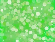 Green gradient background with bokeh effect. Abstract blurred pattern. Light background Vector illustration. Green gradient background with bokeh effect Stock Photos