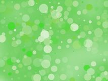 Green gradient background with bokeh effect. Abstract blurred pattern. Light background Vector illustration. Green gradient background with bokeh effect stock illustration