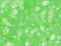 Green gradient background with bokeh effect. Abstract blurred pattern. Light background Vector illustration. Green gradient background with bokeh effect Royalty Free Stock Photography