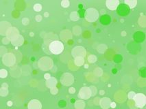 Green gradient background with bokeh effect. Abstract blurred pattern. Light background Vector illustration. Green gradient background with bokeh effect vector illustration
