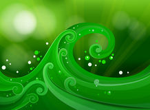 Green gradient design Stock Photos